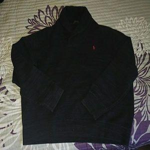 Polo Ralph Lauren men's collar pullover